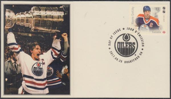 Canada 3032 18 Legends Of Hockey Wayne Gretzky On Superb First